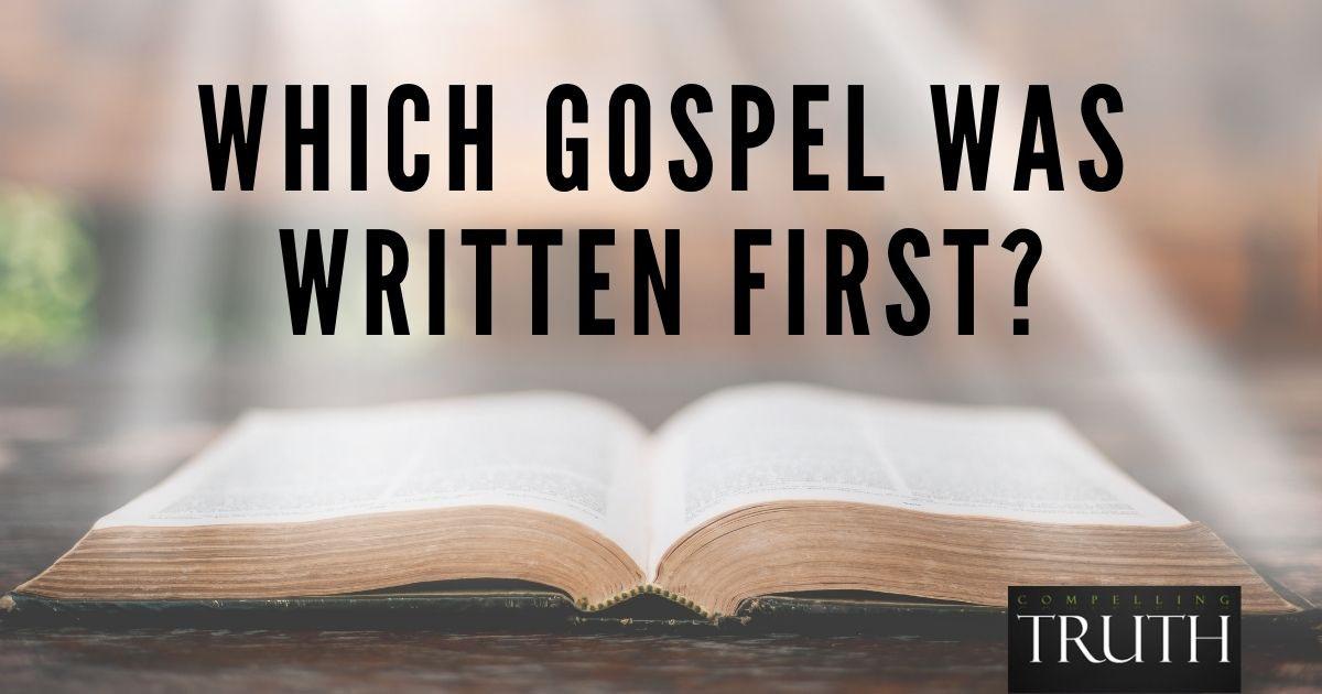 Which gospel was written first?